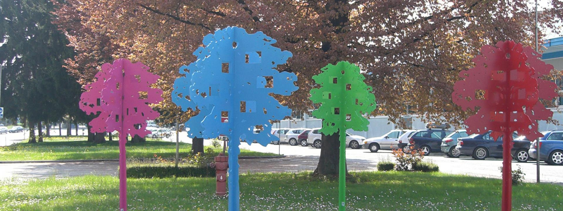 AGC trees in Cuneo (Italy)