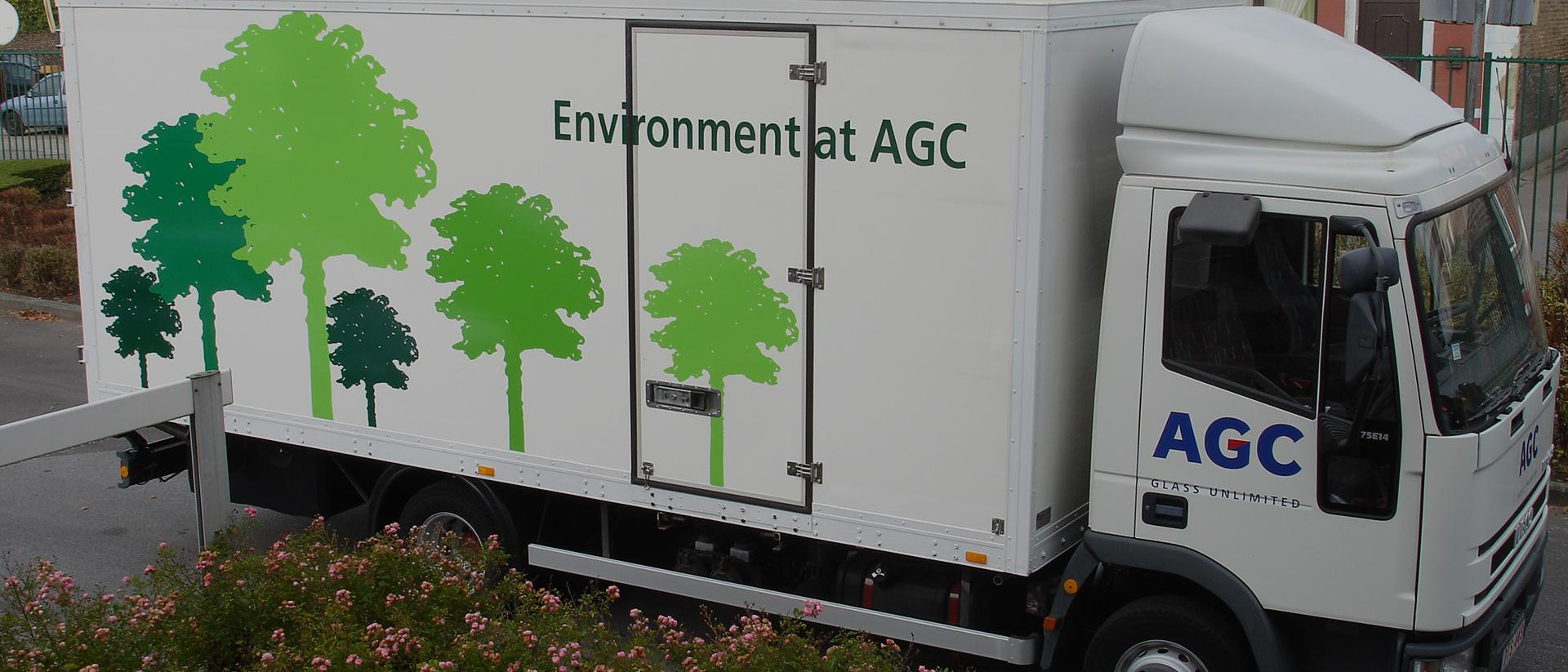 Transport agc glass