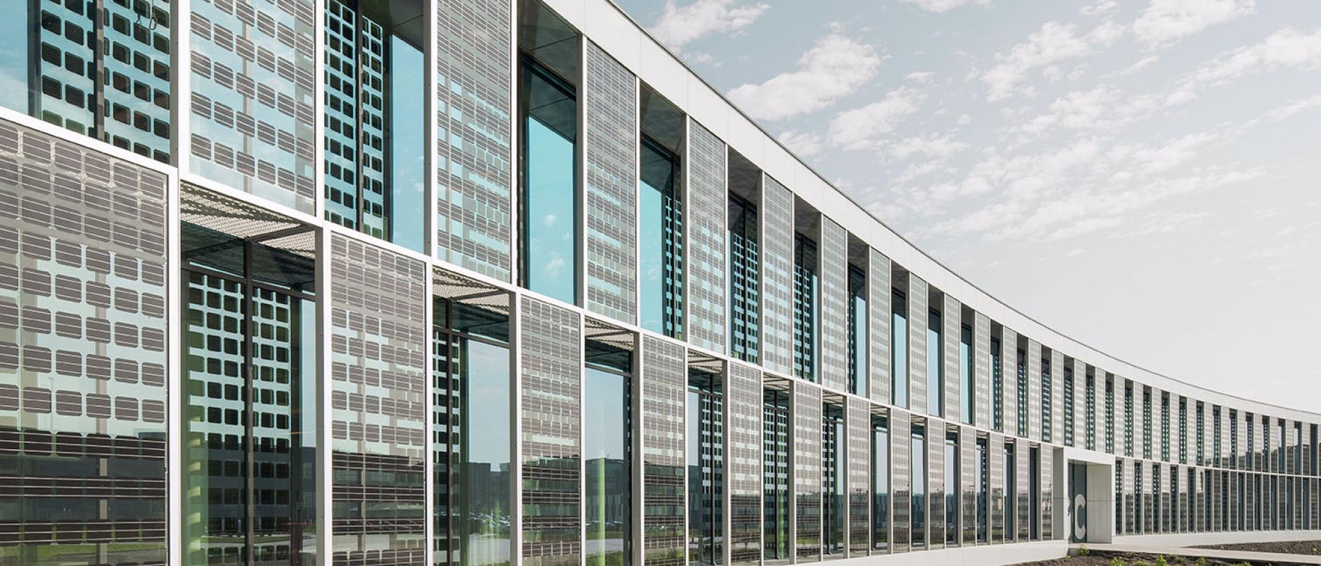 Building Integrated Photovoltaic glass