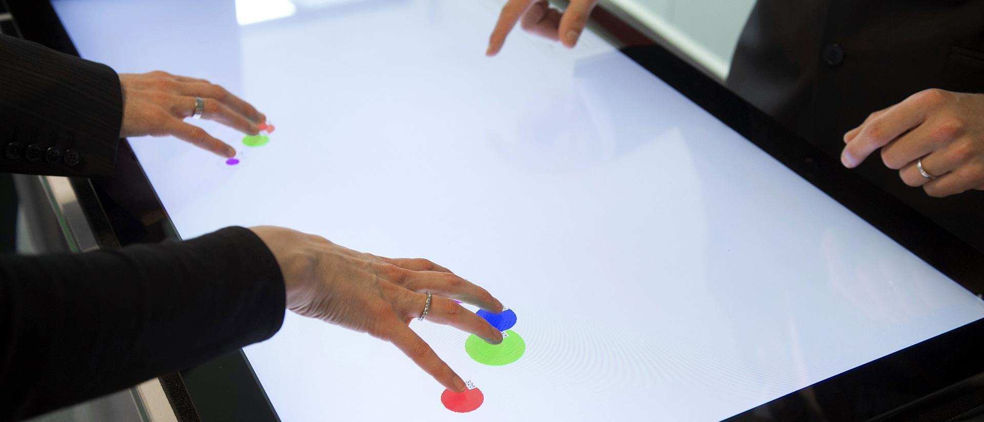 A touch of class for extra-large multi-touch screens
