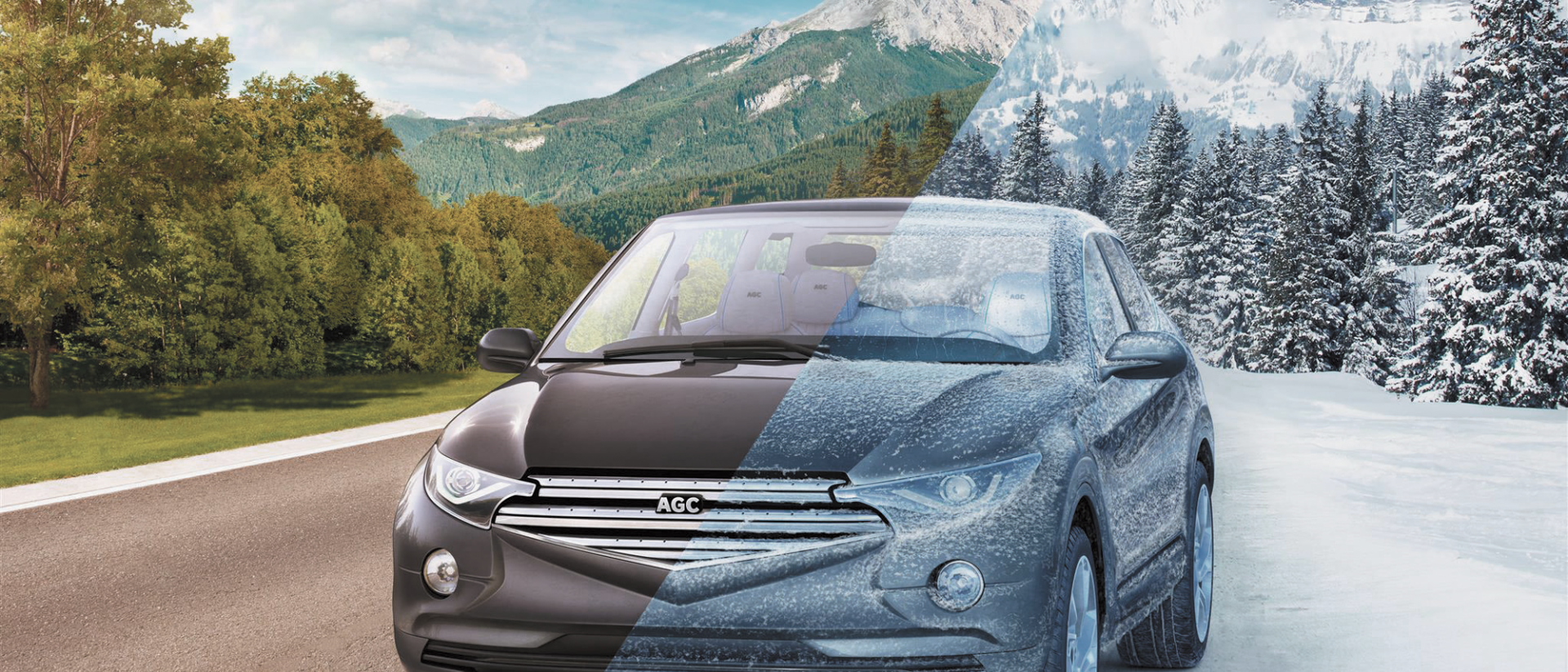 The windshield for all seasons comfort