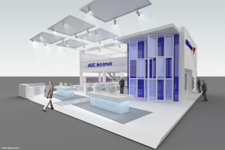 AGC Interpane at Glasstec 2016 Germany - Düsseldorf