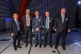 Inauguration of AGC's Anechoic Chambers