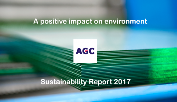 AGC Glass Europe Sustainability Report 2017