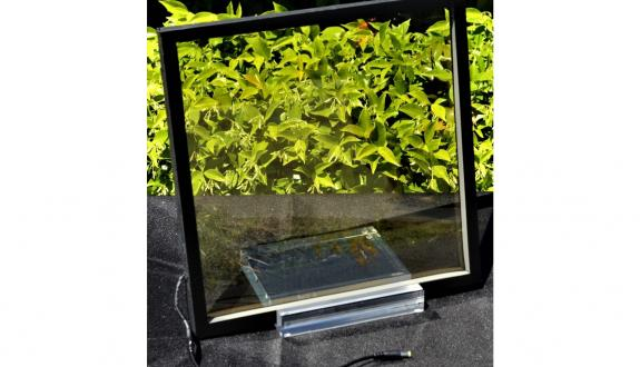 transparent solar control glass