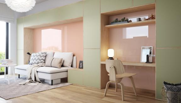 Lacobel and Matelac new colours